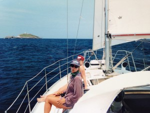 Sailing and navigating were amongst my other passions