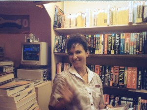 I was very happy with my work in the bookstore.