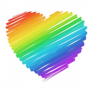 Put a Rainbow in your heart!