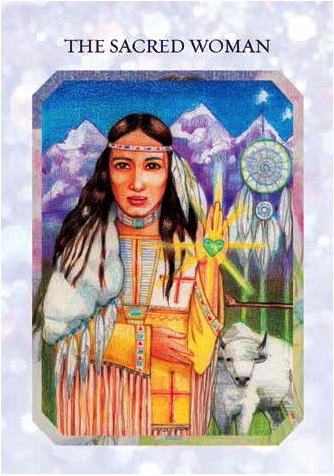 Sacred woman - True Love Reading Cards